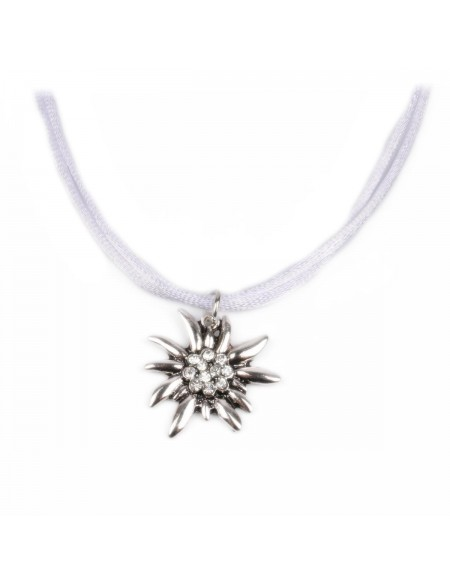 Collier petit edelweiss