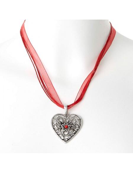 Collier grand coeur